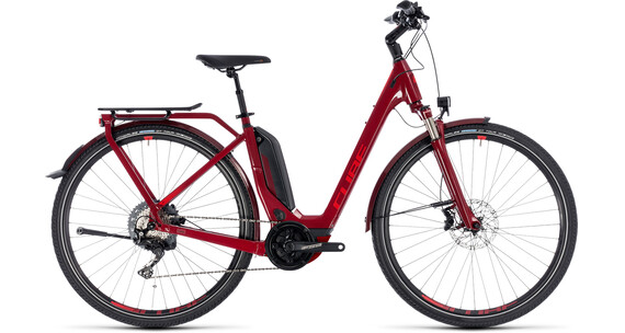 Cube Touring Hybrid EXC 500 Easy Entry Darkred'n'Red